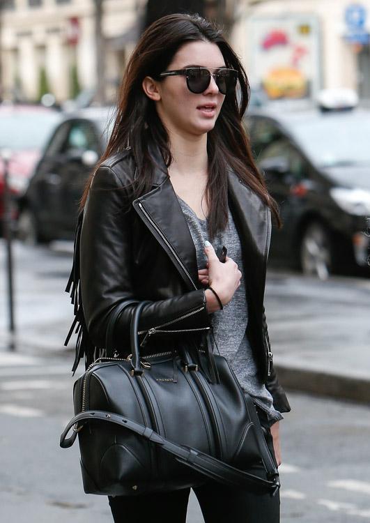 Celebrity Handbags at Paris Fashion Week Fall 2014-7
