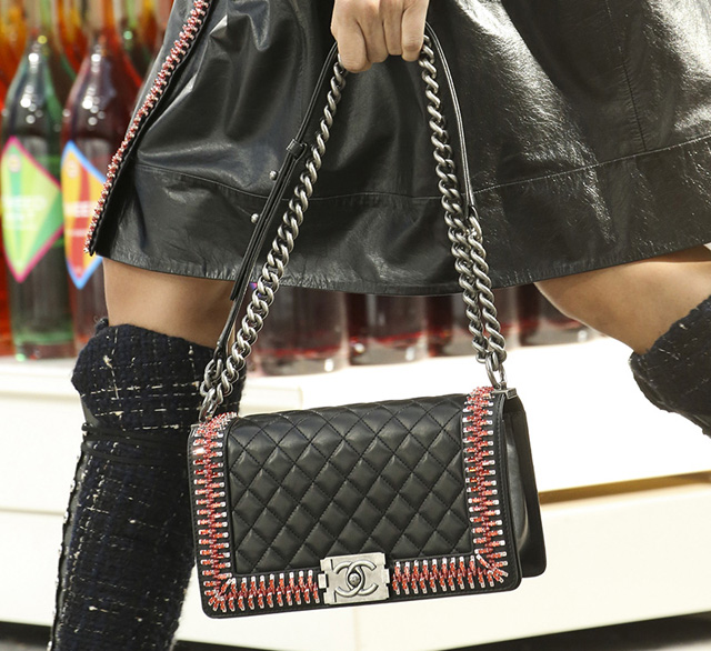 Chanel Boy Bag Fall 2014