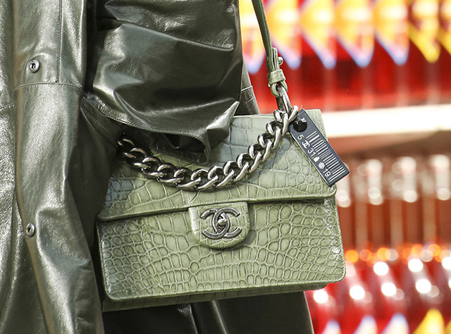 ebf8a1057e46 Chanel's Fall 2014 Bags Were as Fantastically Crazy as We've Come to ...