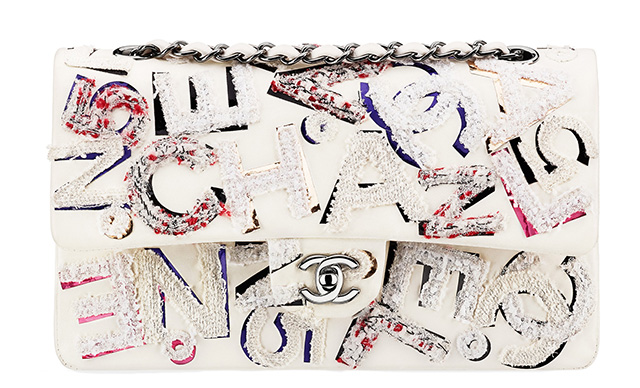 Chanel Graffiti Embroidered Classic Flap Bag
