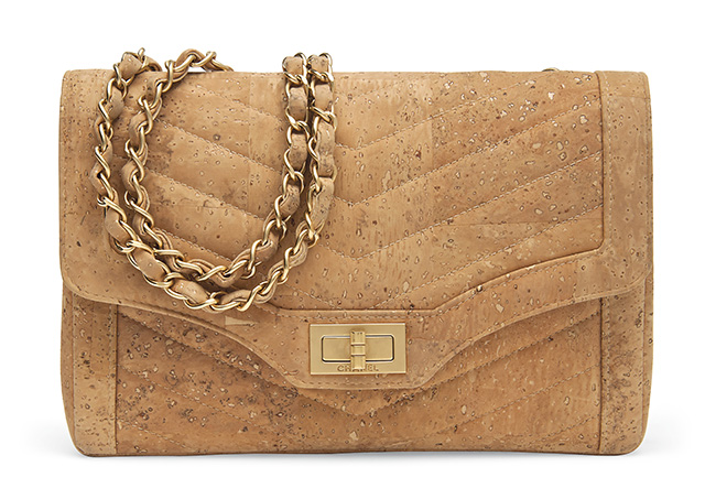 Chanel Limited Edition Cork Single Flap Bag