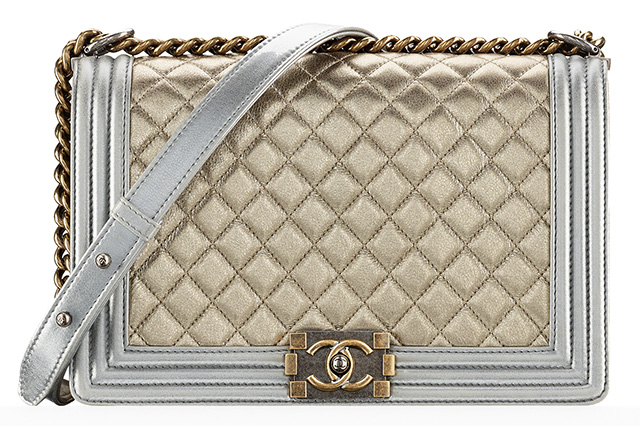 Chanel Mixed Metallic Boy Bag