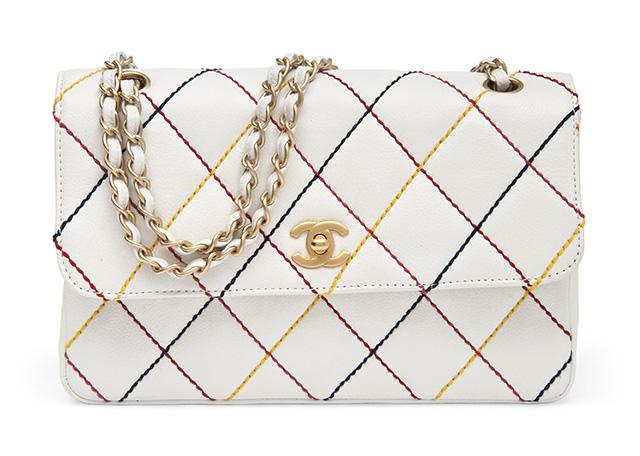 Chanel Multicolor Stitch Classic Single Flap Bag
