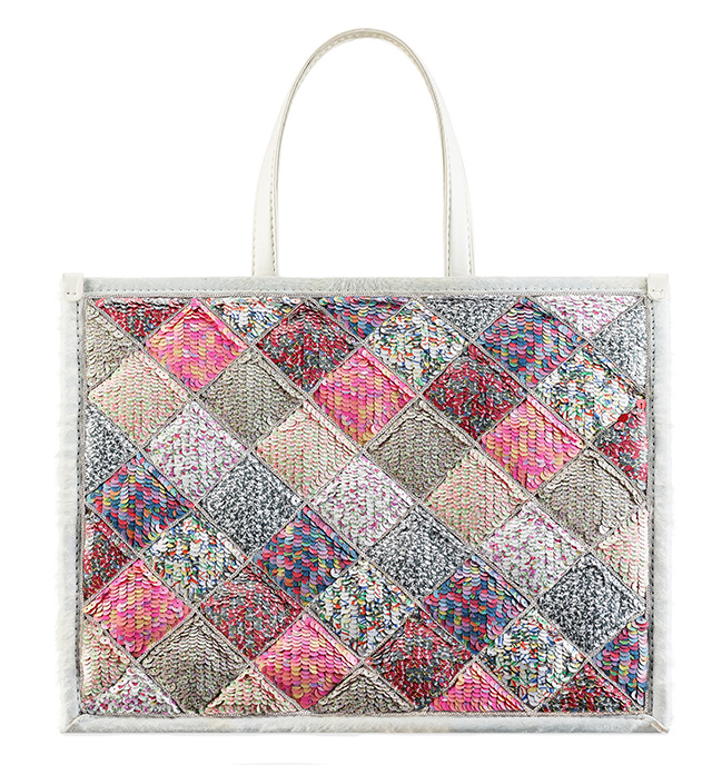 Chanel Multicolored Sequin Large TOte