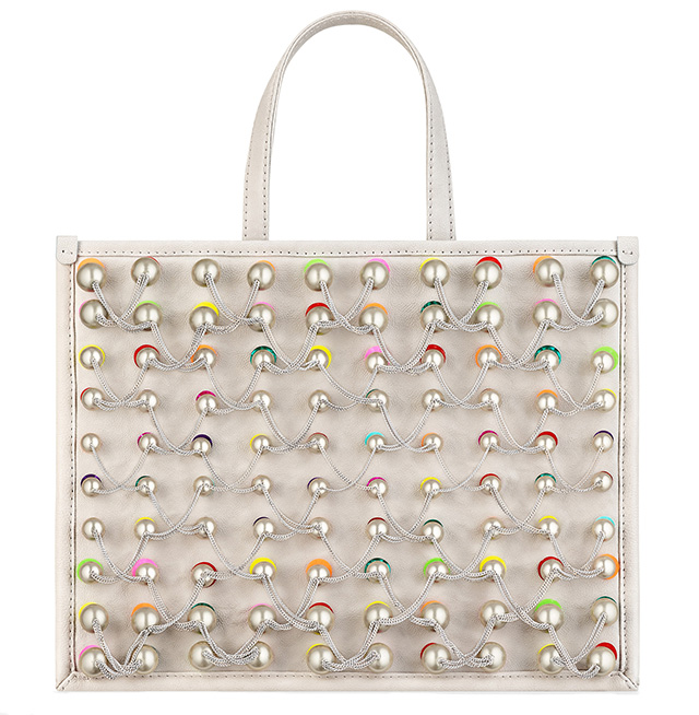 Chanel Pearl Embroidered Large Tote