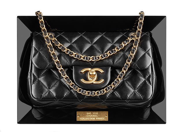 Chanel Plexiglass Frame Flap Bag