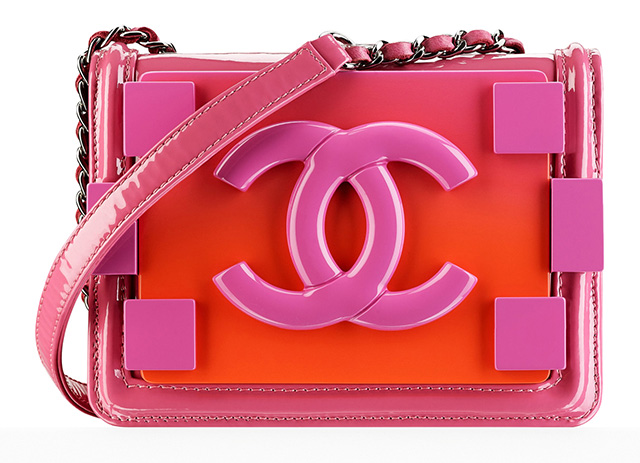 Chanel Small Boy Lock Flap Bag Pink