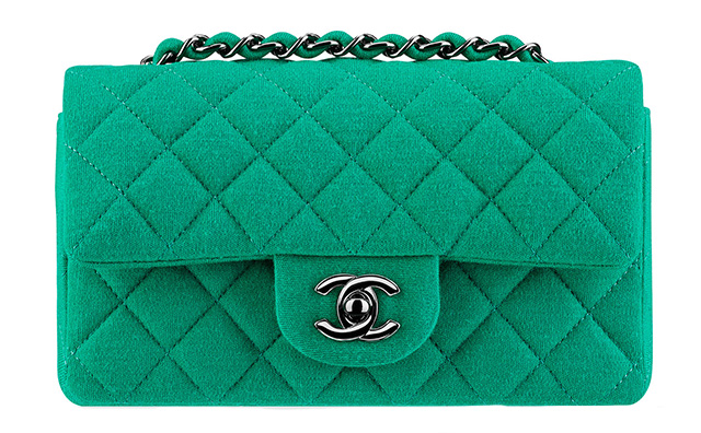 Chanel Small Jersey Classic Flap Bag