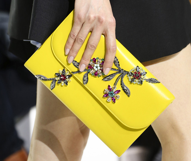 Christian Dior Fall 2014 Jeweled Clutch