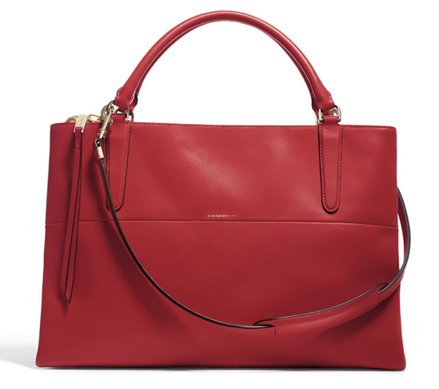 Coach Borough Bag Red