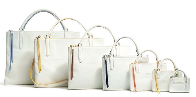 check out coach s spring 2014 lookbook complete with new borough