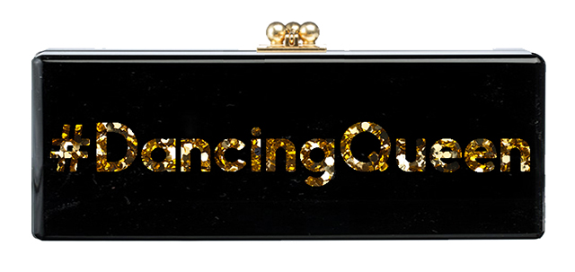Edie Parker Dancing Queen Flavia Clutch