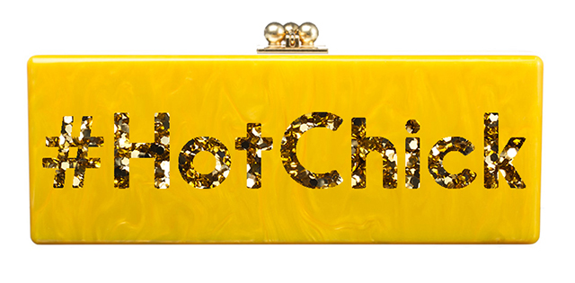 Edie Parker Hot Chick Flavia Clutch
