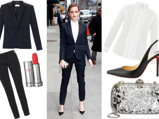 Get the Look: Emma Watson Carries Reece Hudson