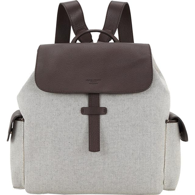Giorgio Armani Canvas Backpack