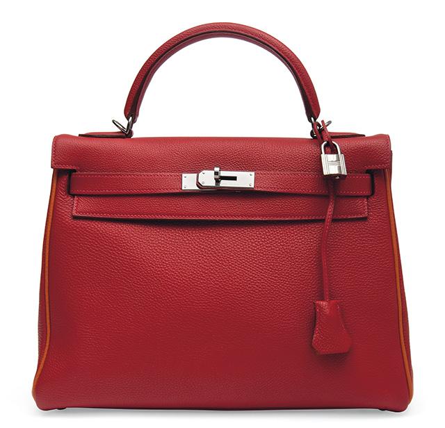 Hermes Kelly Bag Bicolor
