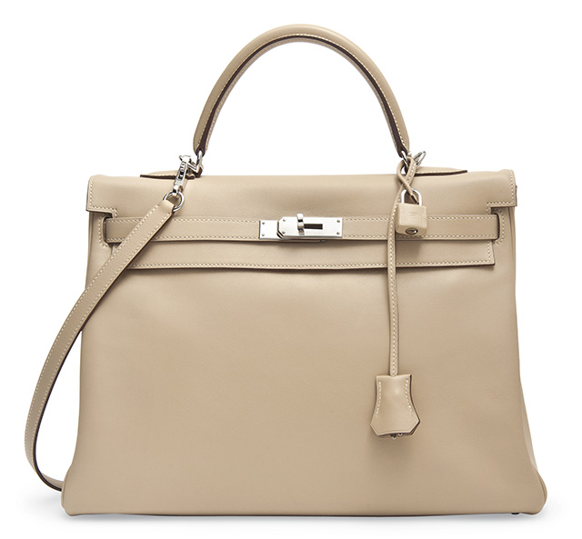 Hermes Kelly Bag Fawn