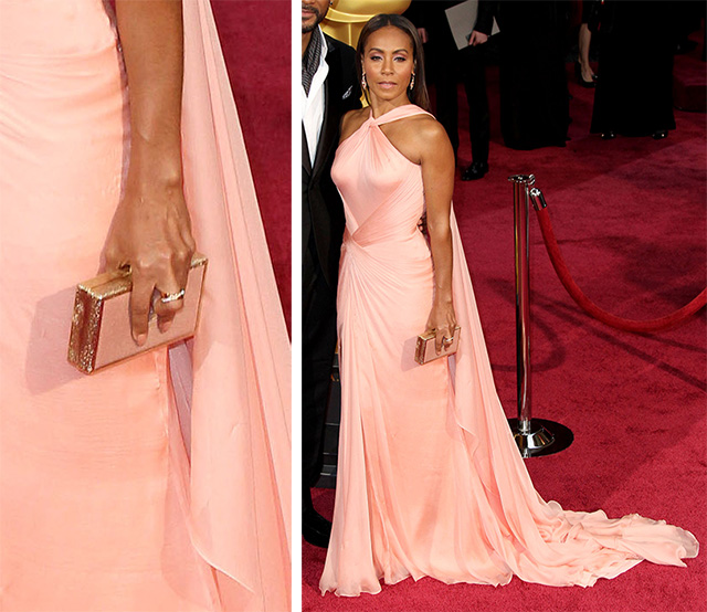 Jada Pinkett Smith Ferragamo Clutch
