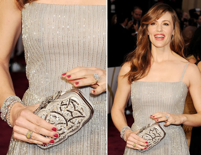 Jennifer Garner Oscar de la Renta at the Oscars