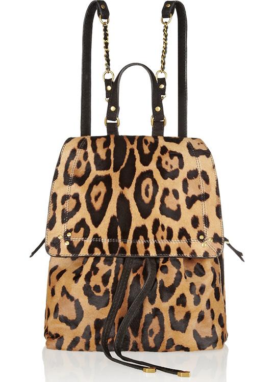 Jerome Dreyfuss Florent Leopard Backpack