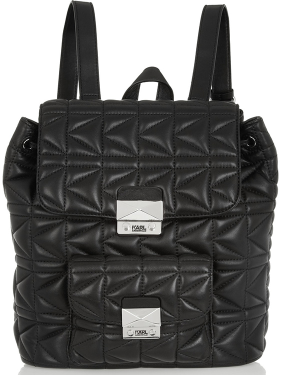 Karl Lagerfeld Kuilted Backpack
