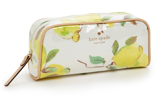 Kate Space Limoncello Bouquet Berries Cosmetics Case