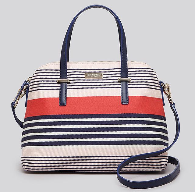 Kate Spade Cedar Street Stripe Maise Bag