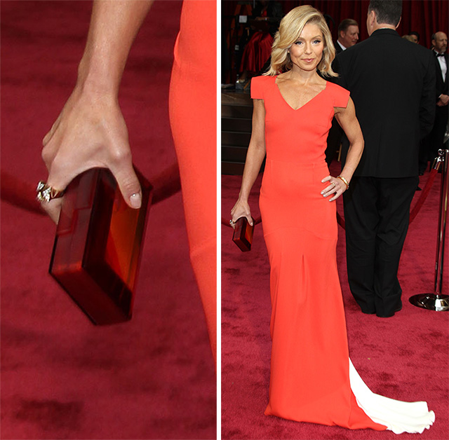 Kelly Ripa Rauwolf Gemstone Clutch