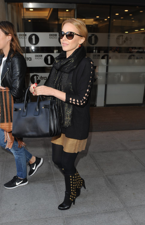 Kylie Minogue Saint Laurent Sac de Jour Bag-2