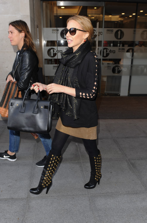 Kylie Minogue Saint Laurent Sac de Jour Bag-3