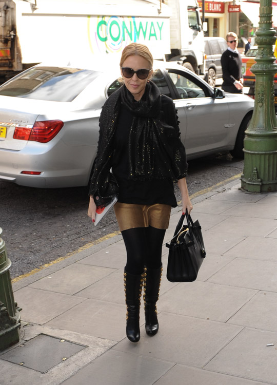 Kylie Minogue Saint Laurent Sac de Jour Bag-4