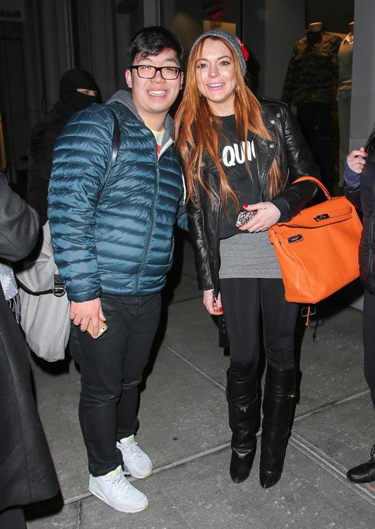 Lindsay Lohan Hermes Soft Kelly 2