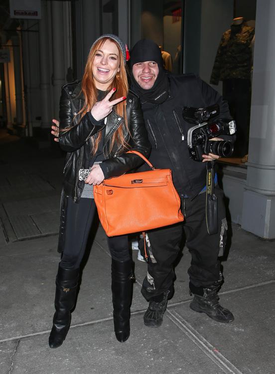 Lindsay Lohan Hermes Soft Kelly 4