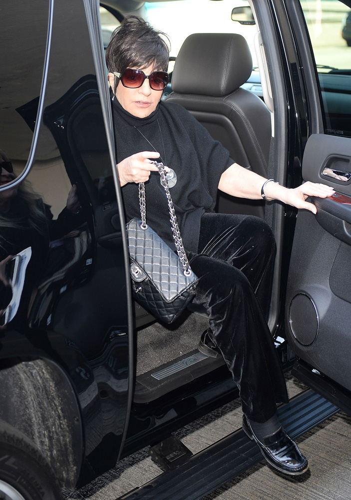 Liza Minnelli Chanel Classic Flap Bag 4