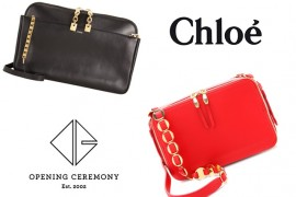 Look for Less: The Chloe Lucy Bag vs. The Opening Ceremony Sumi Bag