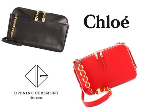 Look for Less Chloe and Opening Ceremony Bags