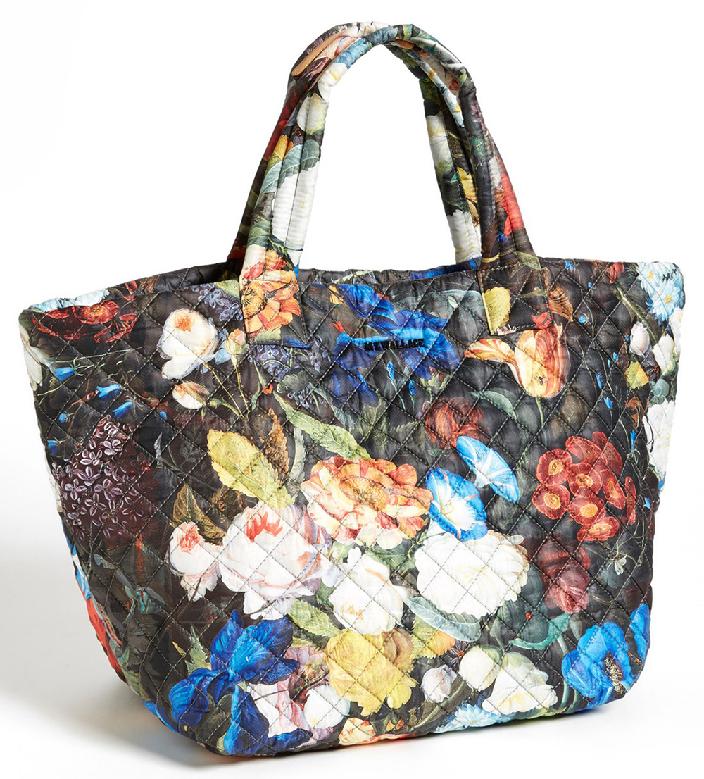 MZ Wallace Metro Medium Floral Oxford Tote