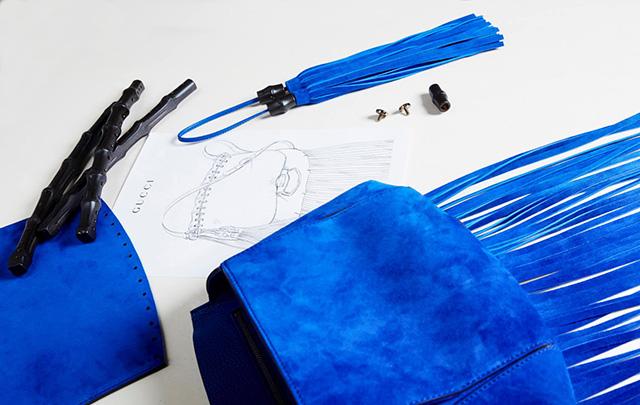 Making of Gucci Nouveau Fringe Bags 1