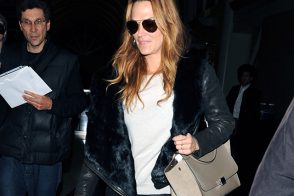 Molly Sims Travels with a Celine Bag
