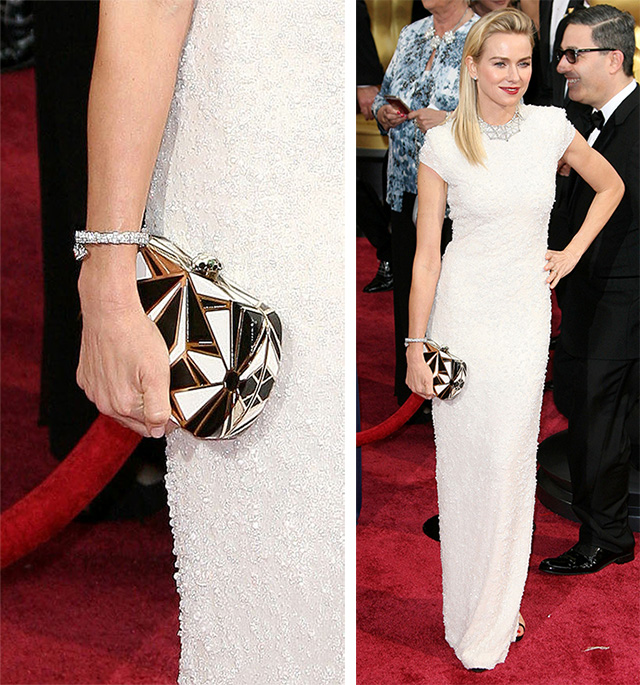 Naomi Watts Bulgari Clutch