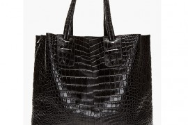 Man Bag Monday: Neil Barrett Embossed Croc Tote