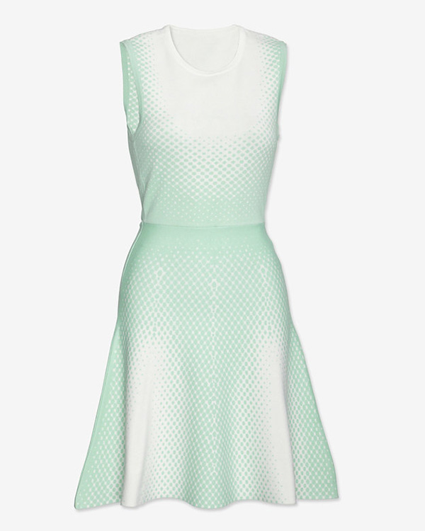 Ohne Titel Jacquard Dot Flare Dress