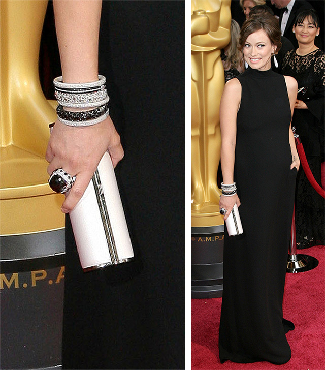 Olivia Wilde Jimmy Choo Clutch