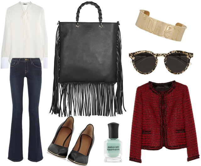 Outfit of the Week Gucci Fringe Bag