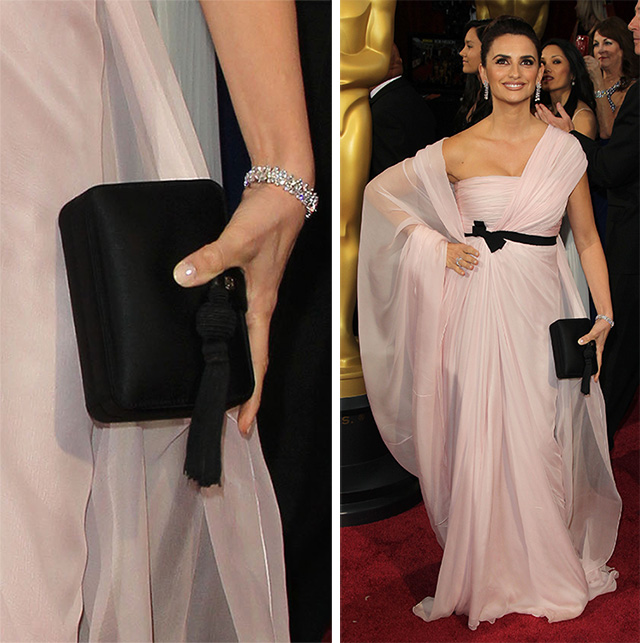 Penelope Cruz Giambattista Valli Clutch