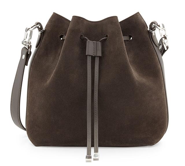 Proenza Schouler Large Suede Bucket Bag