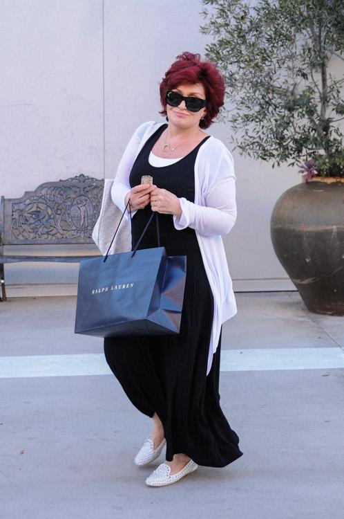Sharon Osbourne Goyard St. Louis Tote-4