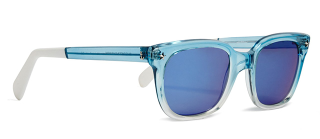 Sheriff and Cherry Blue Star Sky Sunglasses