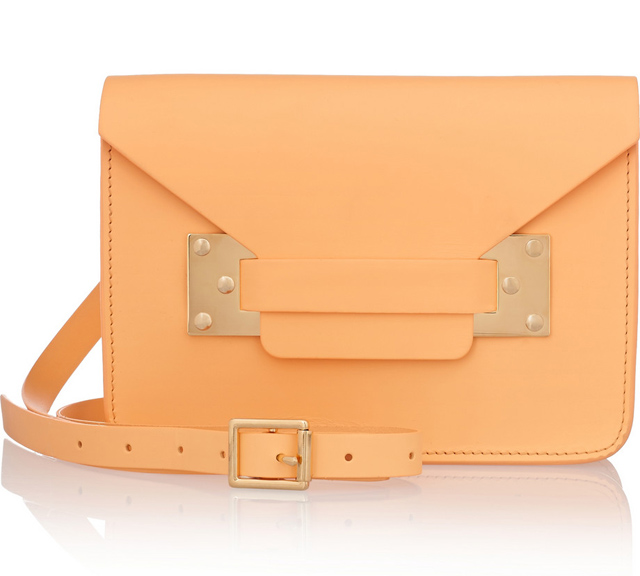 Sophie Hulme Envelope Mini Shoulder Bag