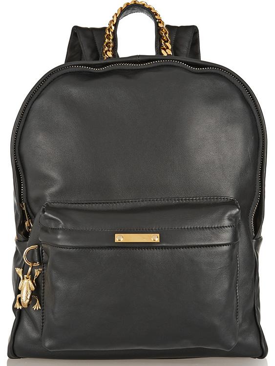 Sophie Hulme Leather Backpack
